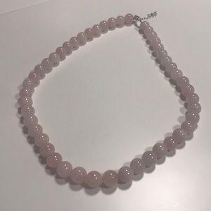 JTV Pink Morganite Necklace NWOT